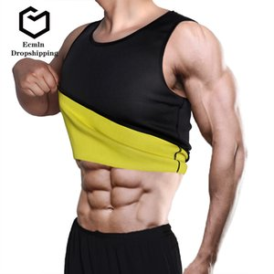 Belly Ecmln Dropshipping Slimming Belt Sweat Men Slimming Vest Shaper Corpo Neoprene Abdomen Fat Burning Shaperwear cintura