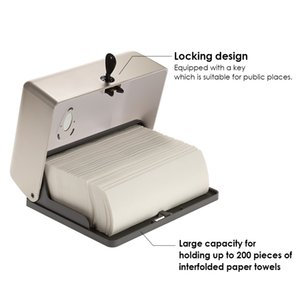 Wall Mounted Tissue Box Holder Bathroom Tissue Dispenser Kitchen Paper Holder Kitchen Paper Towel Dispenser Toilet Paper Holder