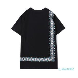 2020 Luxuryshirt Men Fashion Top Tees Summer Mens DesignerShirts Letter Printed T-shirts Casual Tops Women Hot Shirts Size S-2XL d10