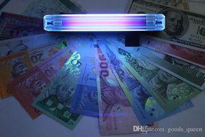 2-in-1 tragbaren Mini-Geld-Detektor Falschgeldgeldschein Bill-Kontrolleur-Prüfvorrichtung mit UV-Licht-Taschenlampe 004
