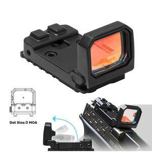 Vism Flip Reflex Roter Punkt-Pistolen-Anblick RMR Mini-faltender holographischer Anblick für Airsoft