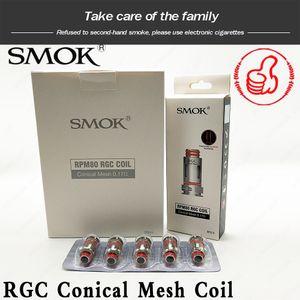 SMOK RPM80 RGC Bobine 0.17ohm Résistance Remplacement Bobines Kanthal Matériel Conçu par SMOK RPM80 Pod Kit 100% Original