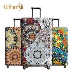 Accesorios de viaje maleta maleta cubierta nueva de la llegada de la buena calidad para el embalaje de protección organizadores Elasticidad de viaje