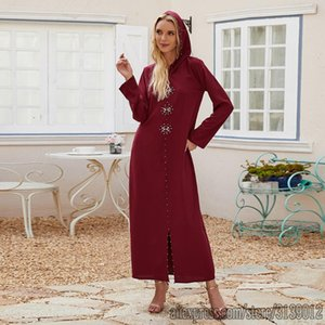 Aid Mubarek Dubai Abaya Turkey Hijab Muslim Dress Robe Djellaba Femme Caftan Marocain Kaftan Islamic Clothing Abayas For Women