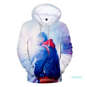 Известный американский рэппер Nipsey Hussle 3D толстовки Толстовка Мальчик / девочка Прохладный Крупногабаритные Повседневный Harajuku с длинным рукавом с капюшоном XM08