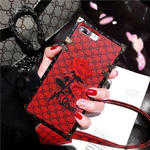 Дизайн Brand Rose телефон случае для iPhoneXR X S Max 6S 7 8 плюс