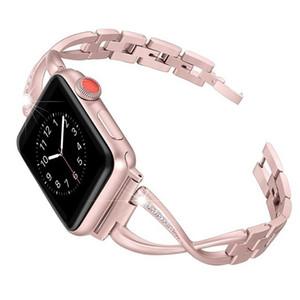 40/44 millimetri sostituzione strass Watch Band Strap Wristband 4 Sanwood