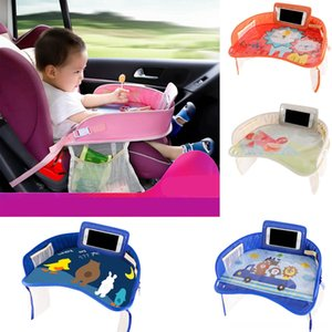 Waterproof Table Car Seat Tray Storage Kids Toys Infant Holder Children Dining Drink Table Incar Accessories Baby Fence