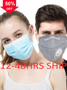 XbgZO Protective Anti-Dust Cotton Mouth shipping K Breathing Disposable Face Masks Black Man Woman Cycling Reusable Unisex White free l