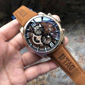 Montres pour homme 2019 Luxe Marque Hommes Quartz Montres Hommes Homme d'affaires Horloge Gentlemen Mode Casual Wristwatch