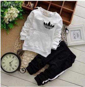 hot Spring Autumn baby girls Sport suit set long sleeve children hoodies sets hoodies+pants kids 2 pcs clothing set