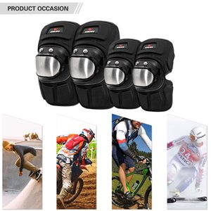 1 Pair Cycling Elbow Brace MTB Bike Motorcycle Elbow Pads Guards Outdoor Sports Elbow Protector Gear Motorcycle Knee Protector