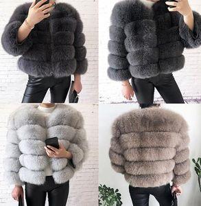 style Réel Manteau De Fourrure 100% fourrure naturelle Veste Femme Hiver Chaud En Cuir Renard Manteau de haute qualité Gilet Livraison gratuite