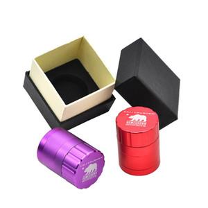"""HoneyPuff Alta qualità 42MM /1.65 """"Cali Crusher Homegrown grinder Herb Spice Tobacco Grinder Lega di alluminio"""