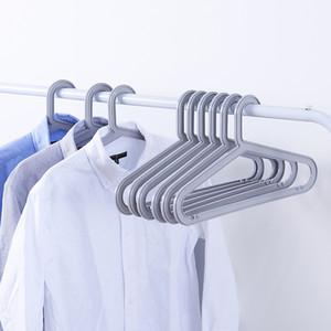 Pantalones de bufanda Lazo clásico simple suspensión de plástico sin costura para el hogar Colgar la ropa Percha de almacenamiento Suspensión de ropa