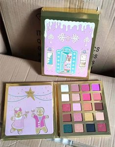 DHL FREE 2019 Christmas Cookie House Party 20 colors Eyeshadow Palette