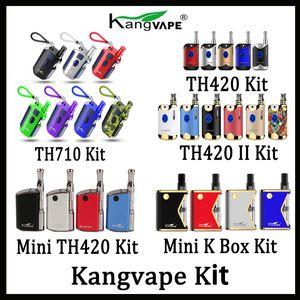 0.5ml의 세라믹 코일 카트리지 정통 100 % 원래 Kangvape TH710 TH710 TH420 V1 TH420 II V2 미니 420 K 상자 모 키트