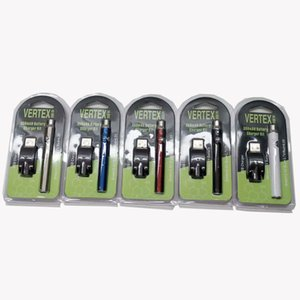 Newest Preheat Battery Blister Pack 5 Colors 350mAh Vertex Preheating Variable Voltage Battery for Thick Oil Atomizer Tank CE3 Vapes