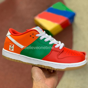 DUNK SB LOW 7 ELEVEN 711 Japan Olympics Chunky Dunky 2020 Men Women Running Shoes University Red Designer Sport Basketball Sneakers With Box