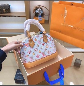 Высокое качество мода изысканный цветочный принт мода shell сумка изысканный дикий дамы роскошные crossbody сумка Сумка рюкзак