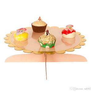 Doğum günü Partisi Dekorasyon Tatlı Raf Tek Tabakalı Kağıtlar Yuvarlak Mulitcolor Tek Kullanımlık Çevre Dostu Çocuk Kek Products3 96wc E1 Duruyor