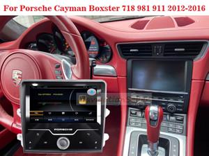 Android 9.0 Stereo Car dvd player multimídia Tela Radio GPS DVD Navigation Android para Porsche Cayman Boxster 718 981 911 2012-2016