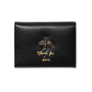 2018 Portafoglio donna Bee Luxury Designer Pelle Miele Fashion Leather Coin Purse Lady Porta carte di credito Femminile