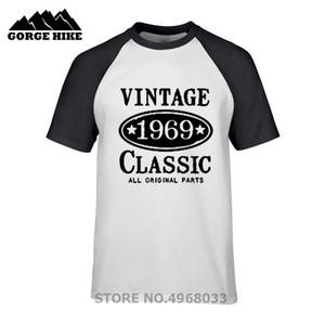 2019 Trend Tshirt 1969-vintage-classic Design 50th Birthday Gift футболка для мужчин круглый вырез 100% хлопок одежда футболка