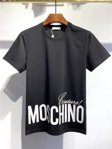2020 nuova camicia stilista Hip Hop Bianco Mens Abbigliamento Camicie Casual T per gli uomini con lettere stampate TShirt Size