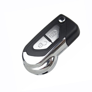 Button Flip Fold Remote Key Shell Auto Car Key Cover Case Replacement Uncut HU83 Blade Fob for Citroen C3 C4 C5 DS3