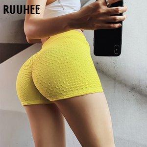 RUUHEE Solid Pantaloni Fitness per la donna Leggings di yoga per Allenamento in corso Abbigliamento sportivo Energy Estate palestra indossare T200605