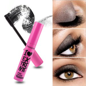 YANQINA 3D Wimperntusche Lush Long Black Waterproof Curved Sweatproof SmudgeFree Mascara Make-up Mascara Volume Express Falsche Wimpern