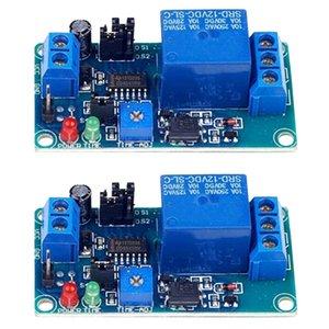 2x12V 지연 타이머 트리거 릴레이 일반적으로 개방형 시간 지연 회로 모듈