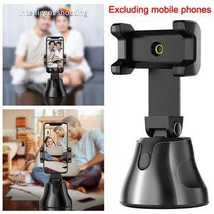 Apai Genie Smart Auto Shooting selfie Stick 360 ° portaoggetti monitoraggio All-in-one di rotazione Face Tracking Holder Camera Phone