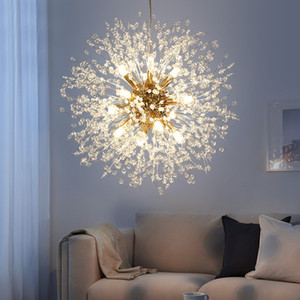 Modern Crystal Chandelier Lighting Cristal Chandeliers Lamp LED Pendant Hanging Light Lustres De Cristal Lamp Light Fixture