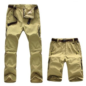 Summer men Separable detachable Quick dry sport running shorts Trousers trekking outdoor hiking camping hunting pants
