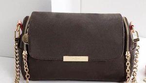 2018 nueva mujer LUJOS Bolsos Moda MARCA mujeres Diseñador Bolsos de hombro Señora Marca Bolsos Bolsos Tamaño 28 * 10 * 16 cm Modelo 40120