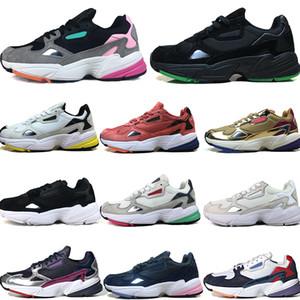 Falcon W Leder Mesh-Jugend Damen atmungsaktiv Outdoor-Laufschuhe Damen Herren Mix EVA Dämpfung Sneakers Sportschuhe