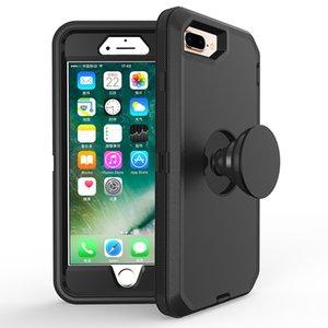 Caso robot pata de cabra para el teléfono 11 Pro Max iPhone 6 7 8 6S Plus X Xr Defensor del protector con el sostenedor
