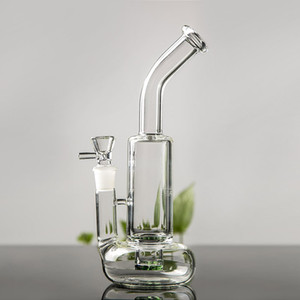 Heady Beaker Glass Bong Thick Bubbler Water Pipe Recycler Dab Rig glass water bongs with bowl Hookahs chicha Tube Smoking Accessories