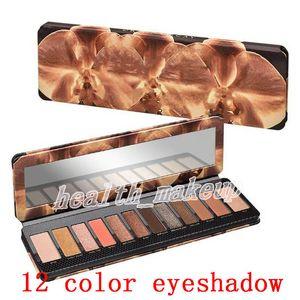 New Hot venda marca de cosméticos RELOADED 12 cores paletas de sombras de olho Shimmer Matte Eye Makeup sombra beleza paletas Frete grátis