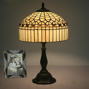 12 인치 스테인드 글라스 유럽식 테이블 조명 연구 빈티지 테이블 램프 Decoracao Para Casa Home Deco Abacour Para Quarto Lamp