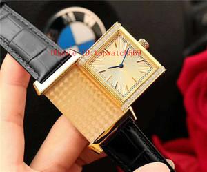 Top Reverso Q2788520 Montre de luxe Diamond Watch suisse automatique mécanique 21600 saphir 18K SPV boîtier en or super résistant à l'eau
