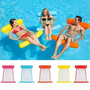 Pool Float Water Hammock Recliner Inflatable Floating Swimming Mattress Sea Swimming Ring Pool Party Toy Lounge Bed for Swimming