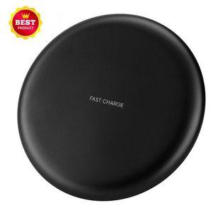 10W estándar Qi-Certified Wireless ultra delgado cargador portátil Qi Placa de Carga para iPhone 11 Pro Max Samsung Nota 10 con su empaque comercial