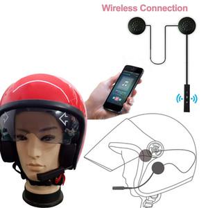 Cuffie senza fili Bluetooth Auricolari Moto Citofono Casco Cuffie musica Vivavoce per motociclista con microfono