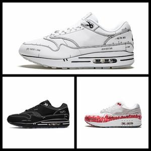 Новые Tinker Sketch to Shelf 1 Red Black Airs Белые мужские кроссовки для мужчин Кроссовки MAXES Женские дизайнерские кроссовки 36-45