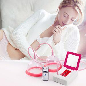 جديد الكهربائية مدلك الثدي تعزيز الصدر فراغ واحد مزدوج كوب توسيع الحجامة تدليك آلة بعقب الثدي