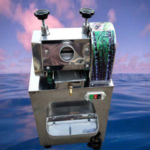 Juicer commercial sucre jus de canne machine en acier inoxydable Sugarcane Juicer machine de vente