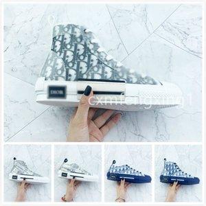 Díor Oblique Homme X KàWS By Kìm Jones B23 B24 Men Women Fashion Designres Повседневная Обувь Высокие Кроссовки 36-45